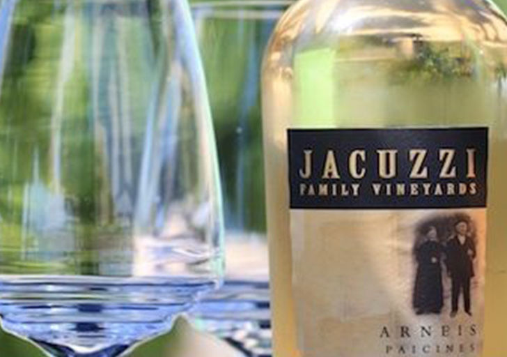 Jacuzzi Wines and Cline Cellars: