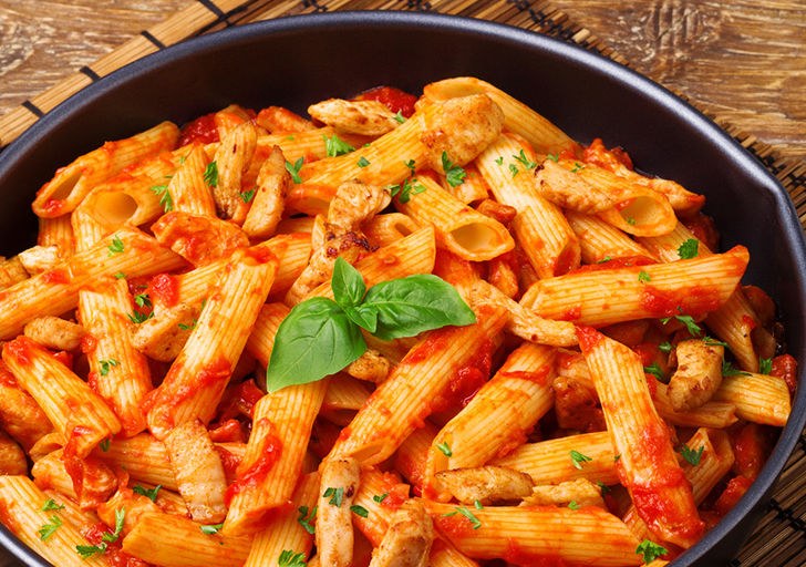Spicy Tomato & Chicken Penne